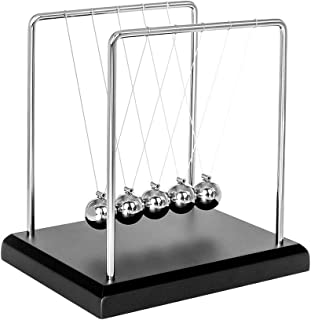 Toys for Desk, Newtons Cradle Magnetic Balls for Adults Stress Relief, Cool Fun Office Games Desktop Accessories,Calm Down...