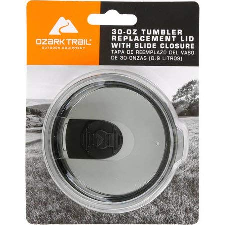 Ozark Trail 30 oz Tumbler replacement Lid with Slide Closure