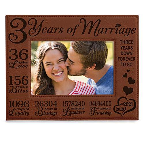KATE POSH 3rd Anniversary Gifts, 3rd Wedding Anniversary, 3 Years Anniversary, Three Years of...
