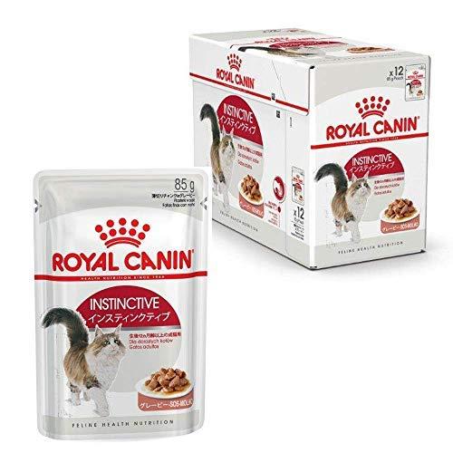 Royal Canin Instinctive Sauce Frischebeutel 12er Multipack,(12 x 85 g Packung)