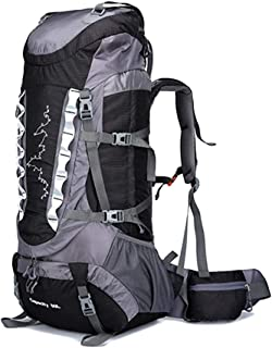 ZHANGQIANG Suitcase Travel Trolley Case Outdoor Sport Backpack Travel Waterproof Mountaineering Backpack Trekking Rucksack for Men Women (Color : Black, Size : 80L)
