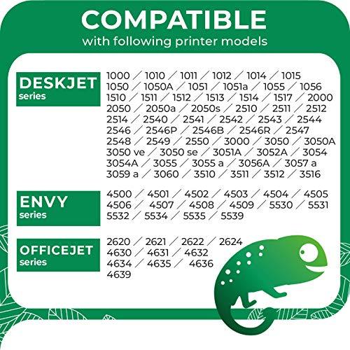 COLORETTO Cartucho de Tinta Remanufacturado para HP 301 XL 301XL Compatible con Deskjet 1000 1050 2050 2512 2545 3000 3050 2620 4500 4639 5534 Impresoras(1 Negro,1 Tricolor) Comprende 2 graffette