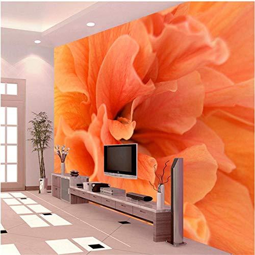 Pbbzl Klantengebonden Elke mogelijke grootte Moderne bloem Het fotobehang 3D Ontwerp TV achtergrond milieuvriendelijk behang restaurant De Wand-3D 150 x 120 cm