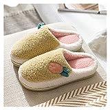 LDH Zapatillas De Mujer Antideslizante De Invierno Lindas Zapatillas De Espuma De Memoria Interior Zapatillas para Hombres Zapatillas para Exteriores para Mujer (Color : A, Size : 36-37)