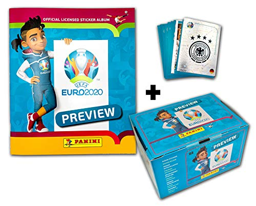 Panini UEFA Euro 2020™ The Official Preview Collection Sticker - Collector's Bundle