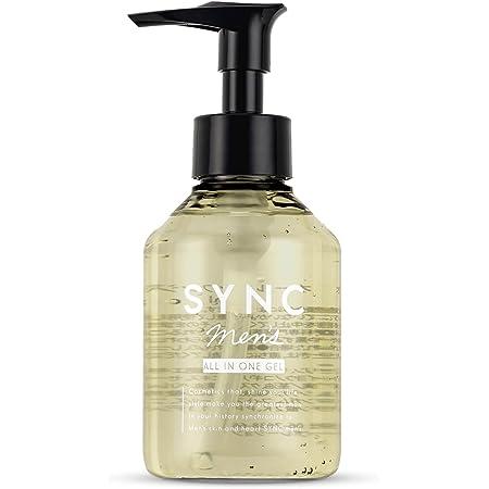 化粧水 メンズ オールインワン けしょうすい SYNC men 's シンクメンズ オールインワンジェル 150ml 敏感肌 オイリー肌 さっぱり 保湿 で テカリ を抑える アフターシェーブ