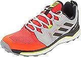 adidas Terrex Agravic, Zapatillas Deportivas Hombre, Solar Red/Core Black/Grey Two F17, 42 2/3 EU