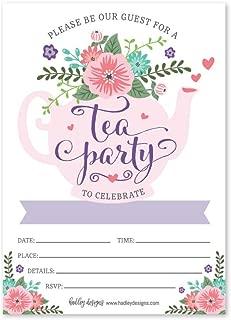 Best tea party birthday invitation Reviews