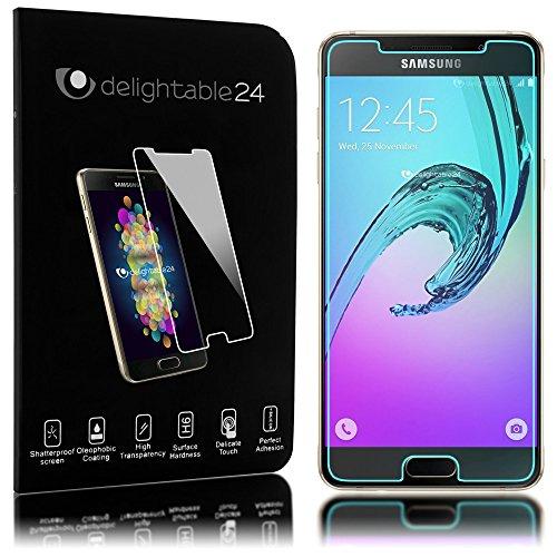 NALIA Pantalla Cristal Templado Maxima Proteccion Glass Screen Protector Compatible con Samsung Galaxy A3 (2016) Smartphone - Transparente
