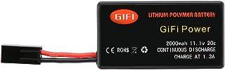 Celerhuak Batteria per Drone Batteria ad Alta capacità 11,1 V 2000 mAh Batteria Sostitutiva aggiornata Lipo Leggera per Pa...