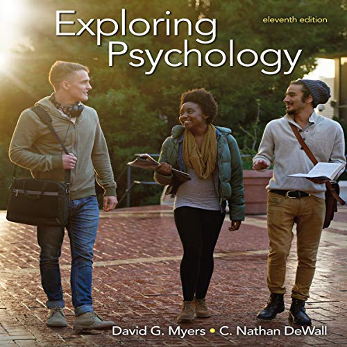 Exploring Psychology 11/e audiobook cover art