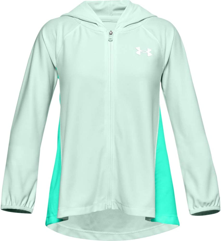 specialty shop Under Armour Girls' Play Max 77% OFF Up Full Knit Zip T-Shirt