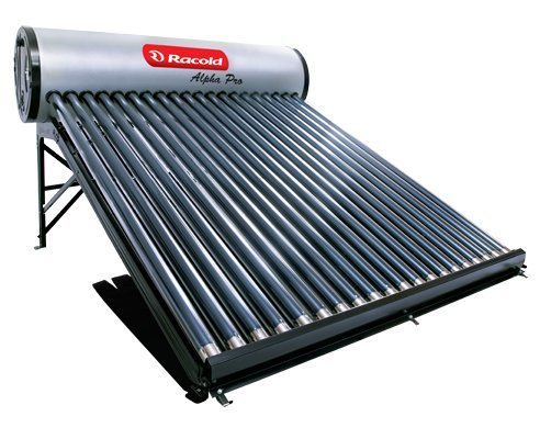 Racold Alpha Pro Solar 200 Lpd Domestic Water Heater (Black)