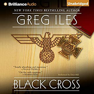 Black Cross audiobook cover art