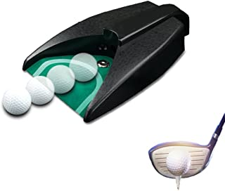 Enshey Golf Automatic Putting Cup, Golf Return Machine Training Indoor Office, Golf Hole Auto Returning Practice Outdoor Garden Lawn