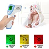 Taran Body Infrared Thermometer Household Safe Professional Non Contact Baby Digital Thermometer Gun Tester For Human