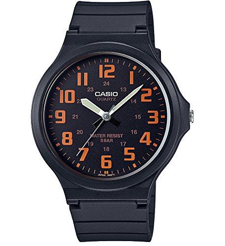[カシオ] 腕時計 スタンダード CASIO STANDARD MW-240-4BJF ブラック