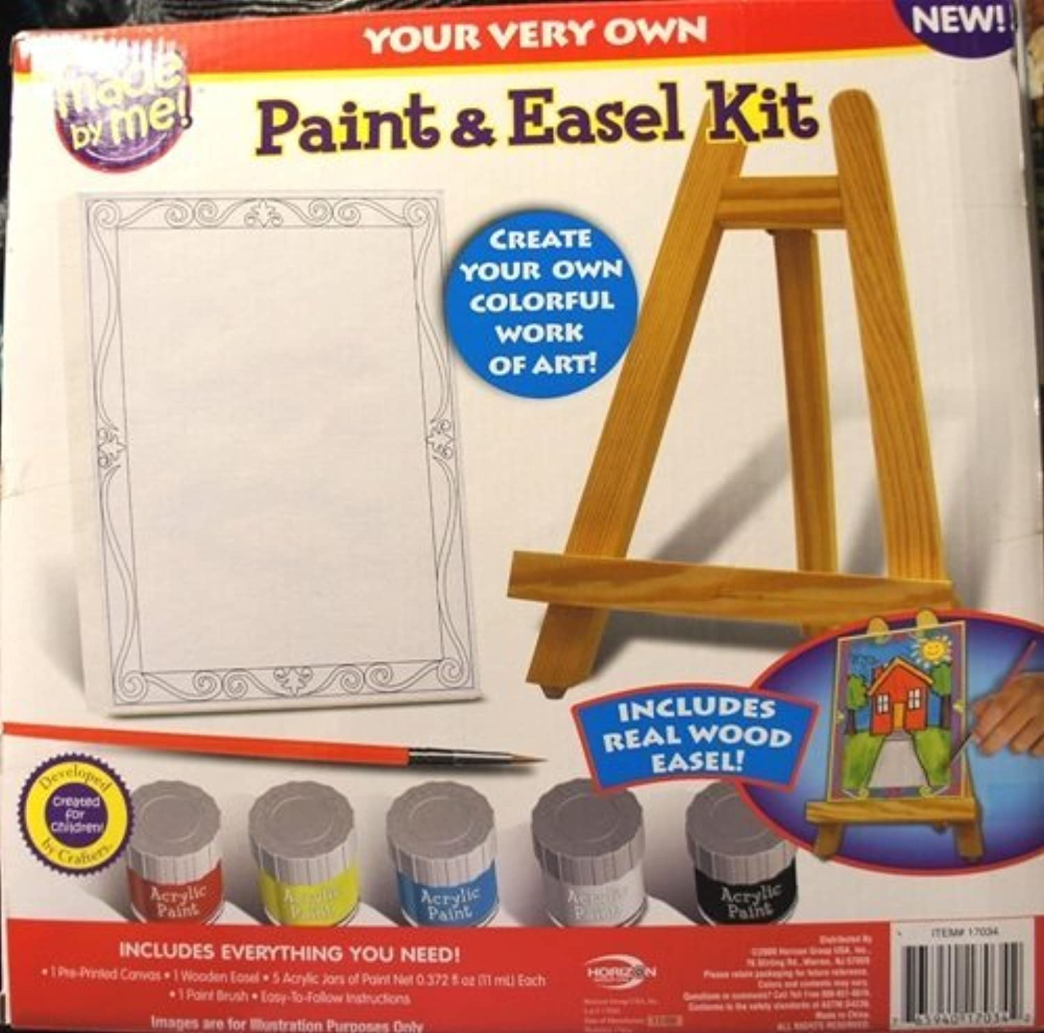 Your Very Own Paint & Easel Kit