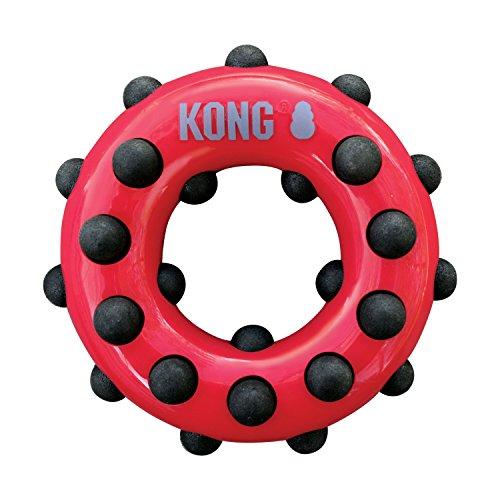 KONG - Dotz Circle - Gioco da Masticare per Cani - per Cani di Taglia Grande