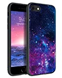 BENTOBEN Funda iPhone SE 2020, Funda iPhone 7/8 Carcas Cover Ultra Delgada Moda Nebulosa Resistente Silicona Suave PC Dura Protectora Cuero Completa Antichoque Fundas para iPhone SE/7/8 4,7''Nebulosa