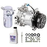 AC Compressor & A/C Kit For Chevy S-10 S10 Blazer GMC Sonoma Jimmy S15 Olds Bravada Isuzu Hombre 4.3L V6 - BuyAutoParts 60-80140RK New