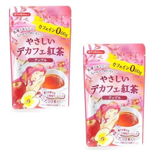 日本緑茶センター『やさしいデカフェ紅茶/アップル』