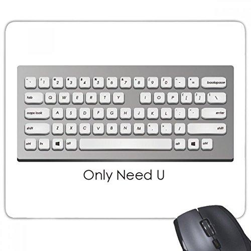 beatChong Programmer Keyboard brauchen nur U Rechteck Griffige Gummi Mousepad Spiel Mauspad Geschenk
