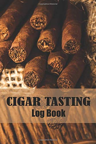 Cigar Tasting Log Book: ฺฺBeautiful gar in sack vintage cover Cigar smoking review tracker Journal, Cigar Personal diary, gift for Aficionados, Cigar ... Review Notebook, Tobacco Journal logbook