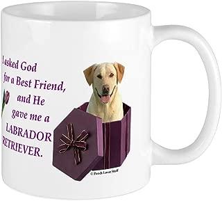CafePress Labrador Retriever (Yellow) Mug Unique Coffee Mug, Coffee Cup