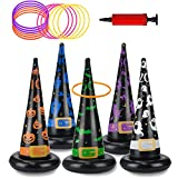 Halloween Party Toys Games, Inflatable Witch...