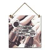 Grafik-Werkstatt Be Happy-Schilder // Friends for Life //