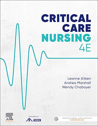 51vjiJkI7IL - Critical Care Nursing (ACCCN's Critical Care Nursing)