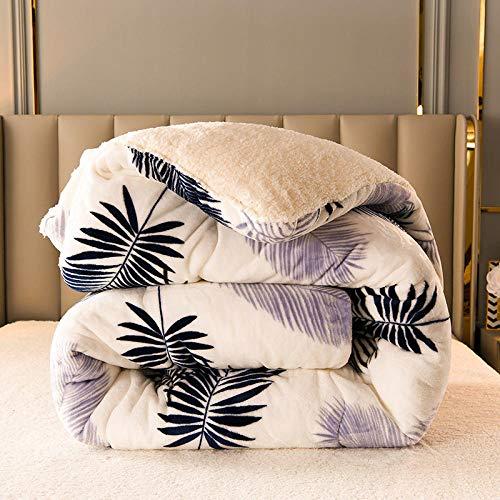 Asbecky Mantas Sofa De Pelo Manta de Cama King Size Fleece Sofá Lanza cálidas Mantas sólidas de Microfibra Reversibles para Cama y sofá-Segundo_150x200cm-2.5kg
