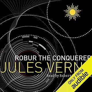 Robur the Conqueror audiobook cover art