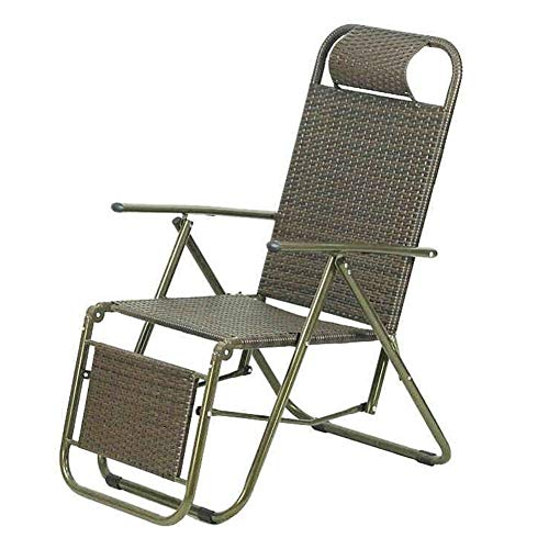 WX Xin Klappstühle Klappstuhl Einfach zu tragen, Oxford Vine - Mittagspause/Büro/Freizeit/Siesta - Nicht klebriger Körper Strandkörbe (Farbe : A)