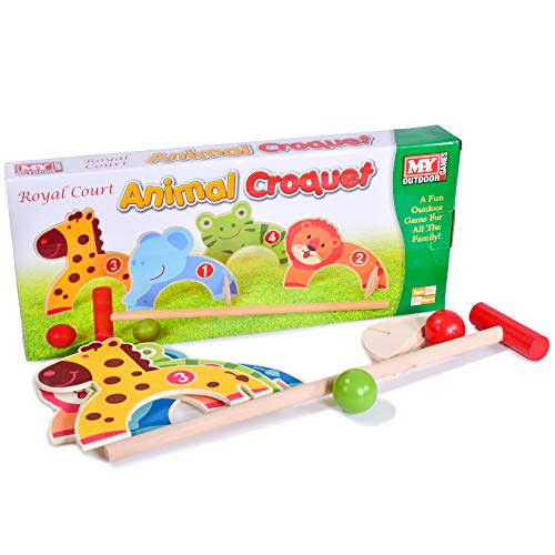 M.Y Animal Croquet Game | Family Garden Games