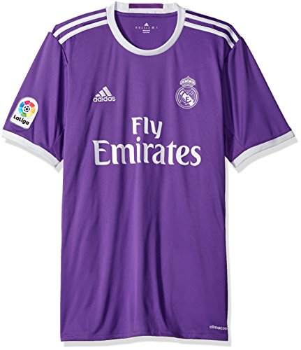 adidas International Soccer Real Madrid Men's Jersey, X-Small, Purple/White