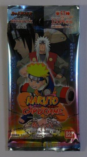 BANDAI Naruto Naruto Kartenspiel Makinoroku Single Pack