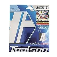 トアルソン(TOALSON) ガット アスタリスタ125 単張りガット 73325109 スーパーホワイト 0 0