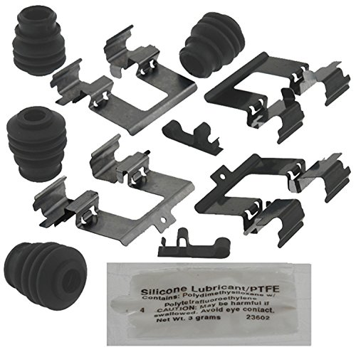 ACDelco 18K1987X Professional Rear Disc Brake Caliper Hardware Kit with Clips, Seals, and Lubricant