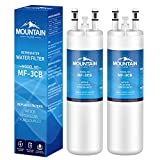 WF3CB Compatible Refrigerator Water Filter Replacement Pure Source 3, white, 2-PACK