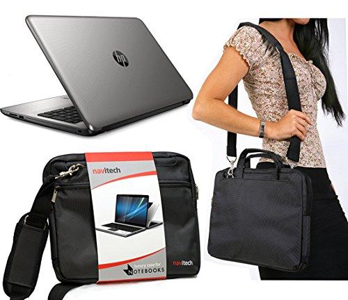 Navitech Schwarze Prime Laptop/Notebook/Ultrabook Case/Tasche für das HP Pavilion x2 Tablet with 12.1
