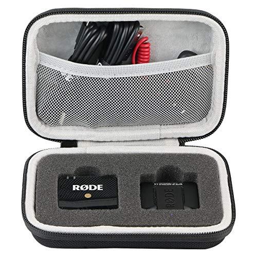 Khanka Eva Borsa da Viaggio Custodia Caso Scatola per RØDE Sistema microfono wireless compatto
