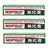 Mopiko Ointment for Pain & Itchiness 20g X 3 packs