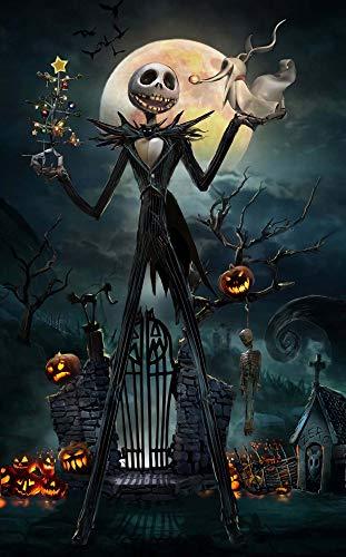 Puzzle De 500 Piezas Para Adultos Puzzles De Madera - Cosecha De Marionetas De Esqueleto De Halloween - Muy Buen Juego Educativo