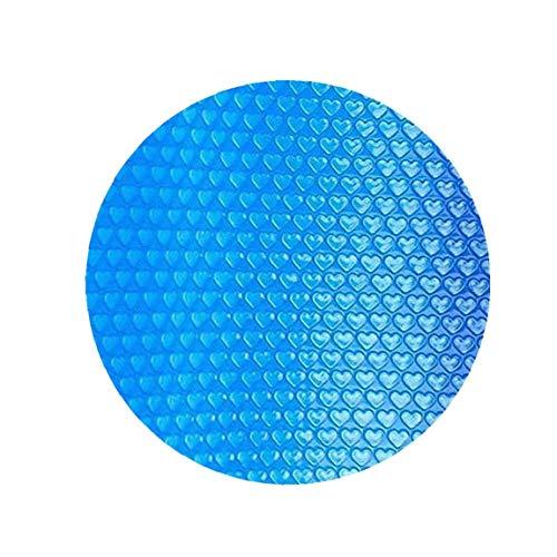 lujiaoshout Suministros Piscina Cubierta Piscina Redonda Solar Cubierta Protectora Impermeable Polvo Piscina de Aislamiento de Cine Inicio Piscina Accessor 450CM Yard