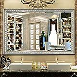 Angel Bidet Einsatz für Toilette European Rectangle Badezimmerspiegel, Schminkspiegel, Schminkspiegel, Wandrechteckige Spiegel, Schlafzimmer Dekorative (Size : 60 * 80CM)