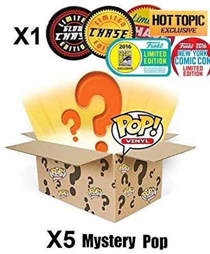 Mystery Pack Incluye Random Limited Edition, Exclusive o