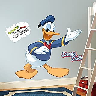 RoomMates Disney Donald Duck Peel and Stick Giant Wall Decal