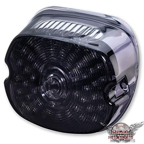 Motorrad Mini LED Rücklicht für Harley Davidson Modelle schwarz getönt